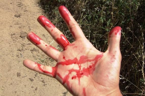 que significa soñar que tienes sangre en las manos
